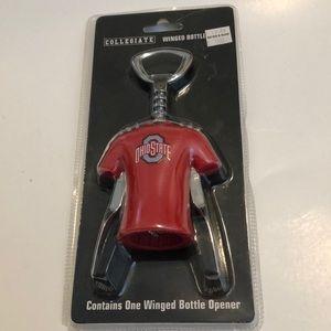 Collegiate winged bottle opener. Ohio State. NWT.